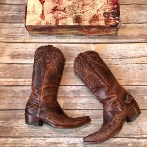 "Old Gringo Viridiana Boots 13"" Brown/Rust"